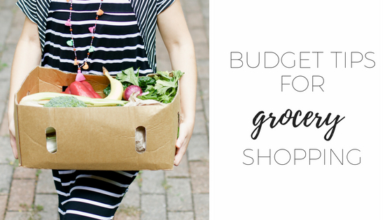 Budget tips for groceries