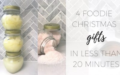 4 foodie Christmas gifts in less than 20 minutes
